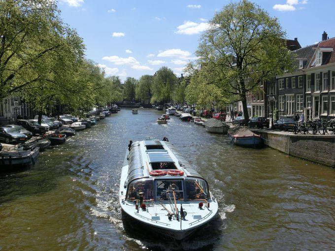 運河から街を眺めよう!