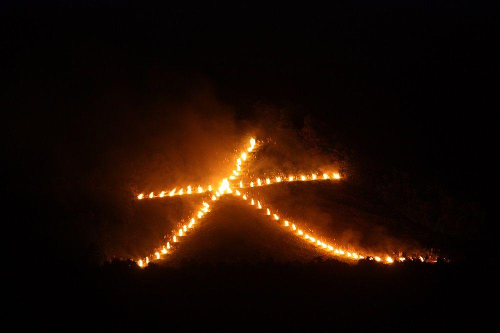 ラウンジは「五山の送り火」が眺められる超穴場!