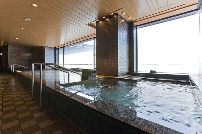 湧き出る天然温泉、入浴プランがおすすめです!