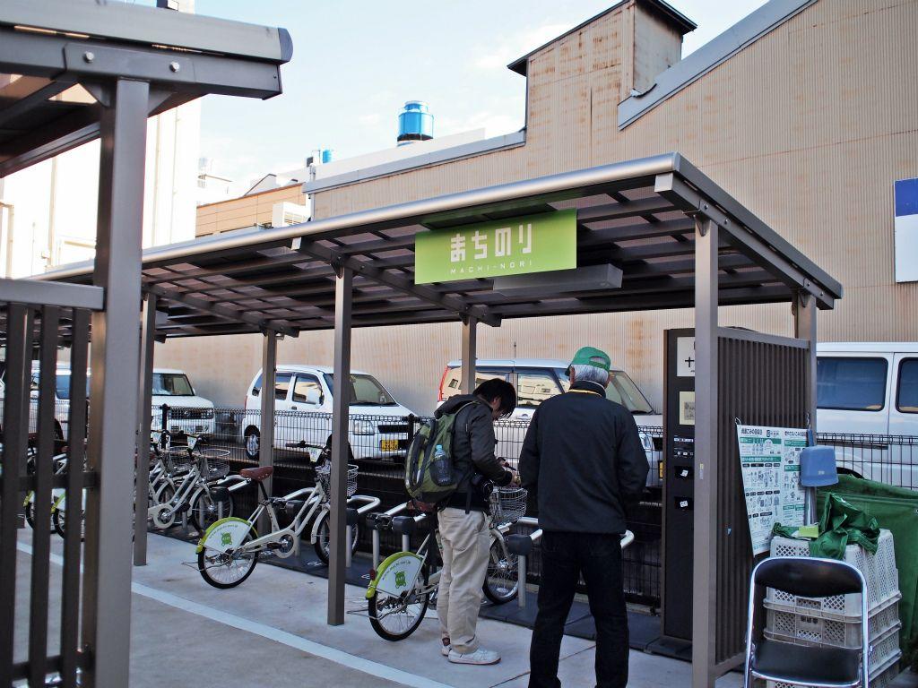 自転車の貸出・返却方法
