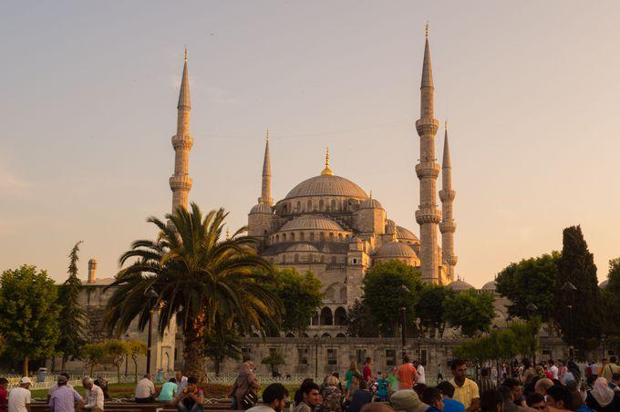 これぞイスタンブール!な風景の旧市街