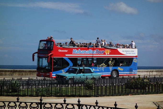 周遊路線バス「ハバナ・バスツアー」