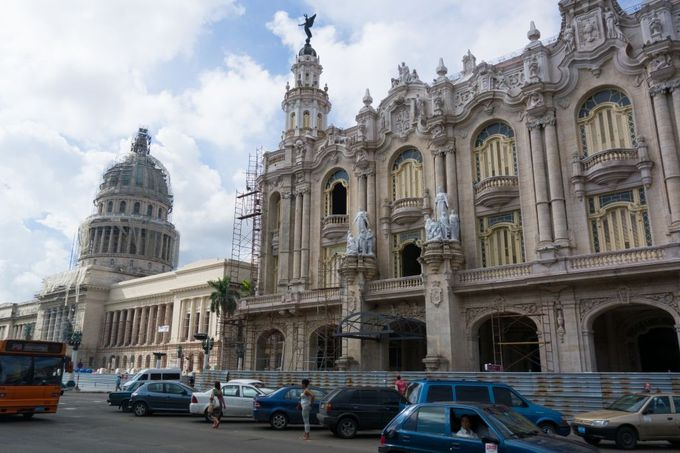 旧国会議事堂&ガルシア・ロルカ劇場