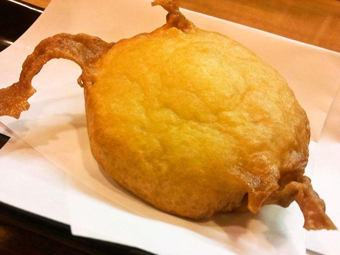 ビスケットを天ぷらに?!冗談ではない真面目で素朴な美味さ「ビス天」