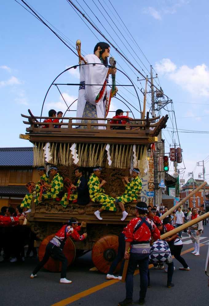 夏と秋に行われる佐原の大祭