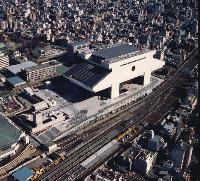 駅近に広大な博物館!