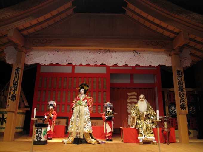 現代にも続く娯楽、歌舞伎