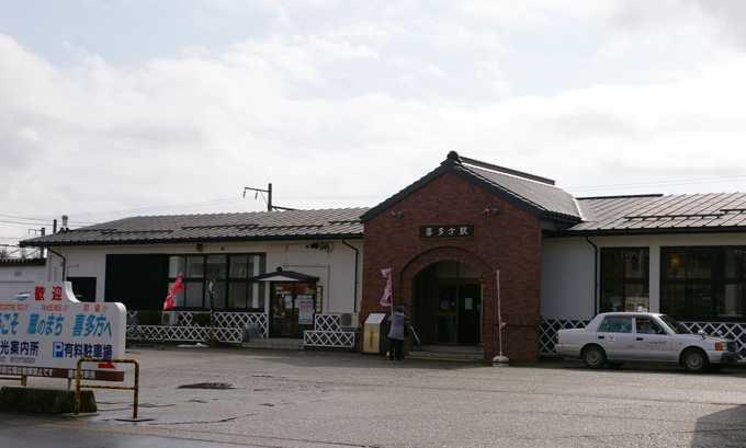 喜多方駅を中心に徒歩で散策