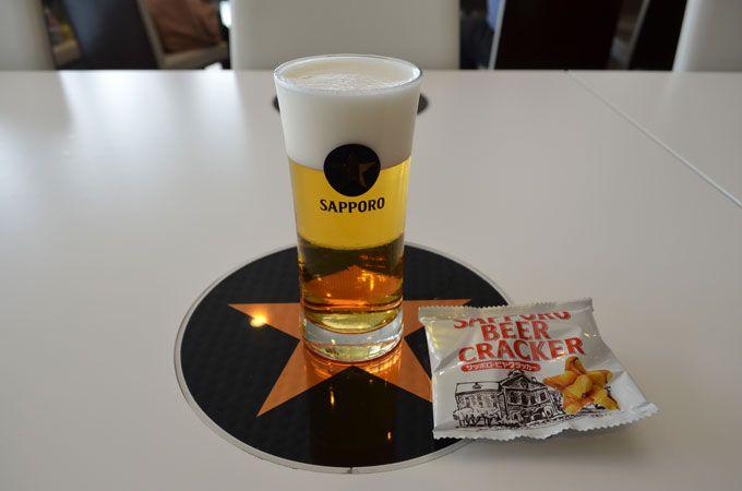サッポロビールのレアグッズが盛りだくさん! 売店も要チェック!