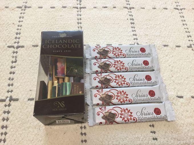 まずは安定のチョコレート製品!