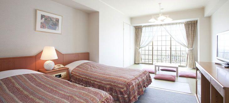 和室のくつろぎと洋室の快適さを兼ね備えた「和洋室」