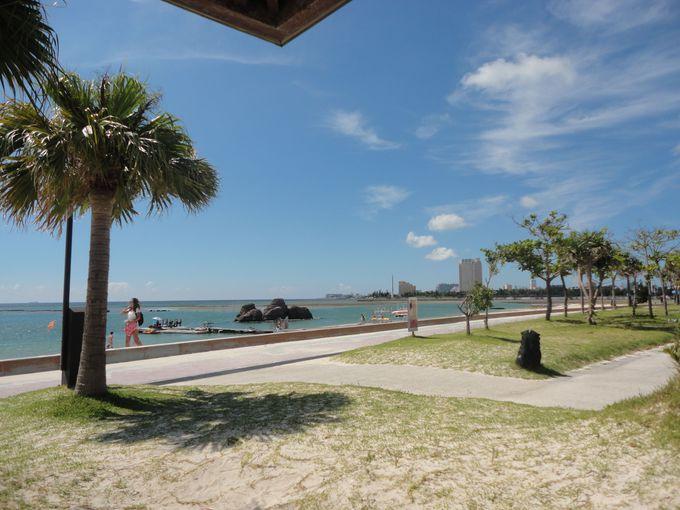 お隣の安良波ビーチ(アラハビーチ)もおススメ!