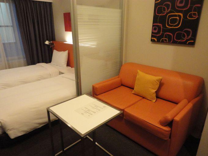 ヨーロピアンスタイルの都市型滞在ホテル