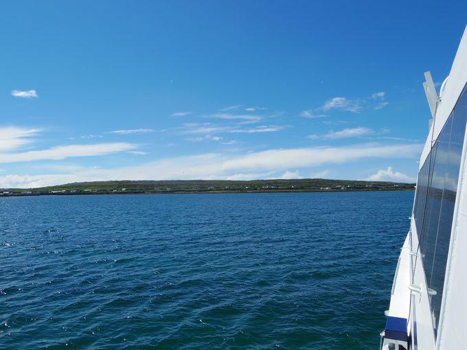 アラン諸島最大の島「イニッシュモア島」へ