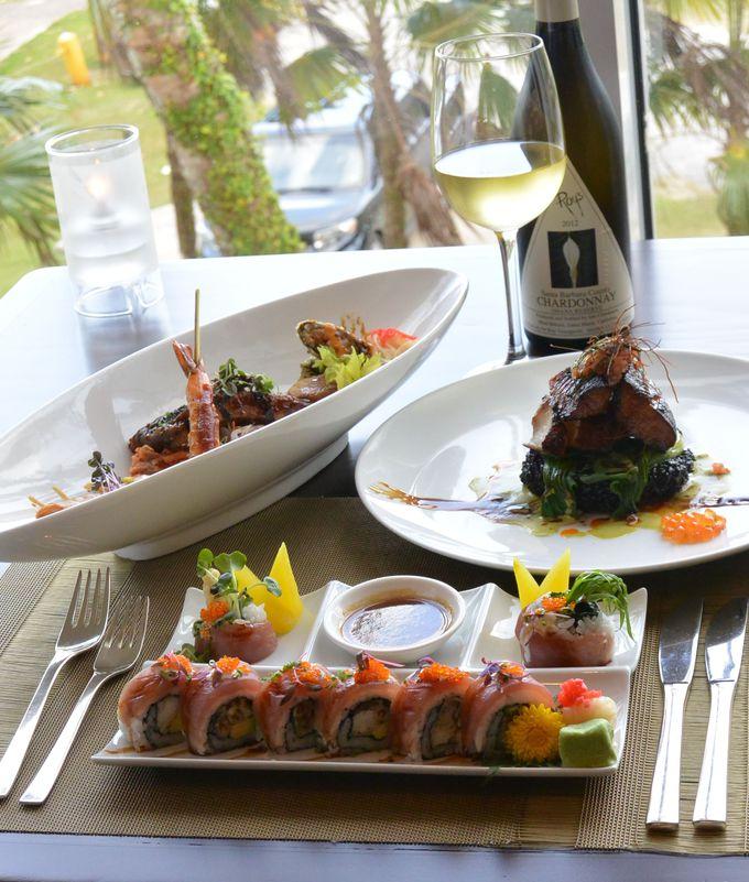 銀ダラの味噌焼きやマグロロール寿司をハワイ&グアムスタイルで