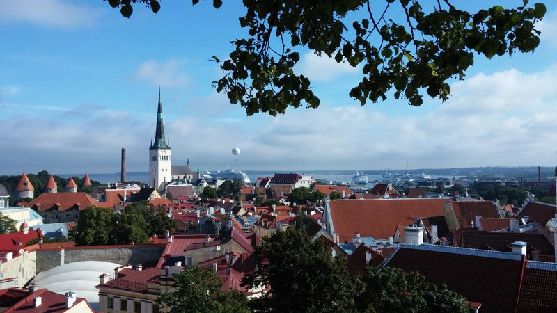 中世の面影が残るエストニア・タリンの旧市街は、まるでおとぎの国