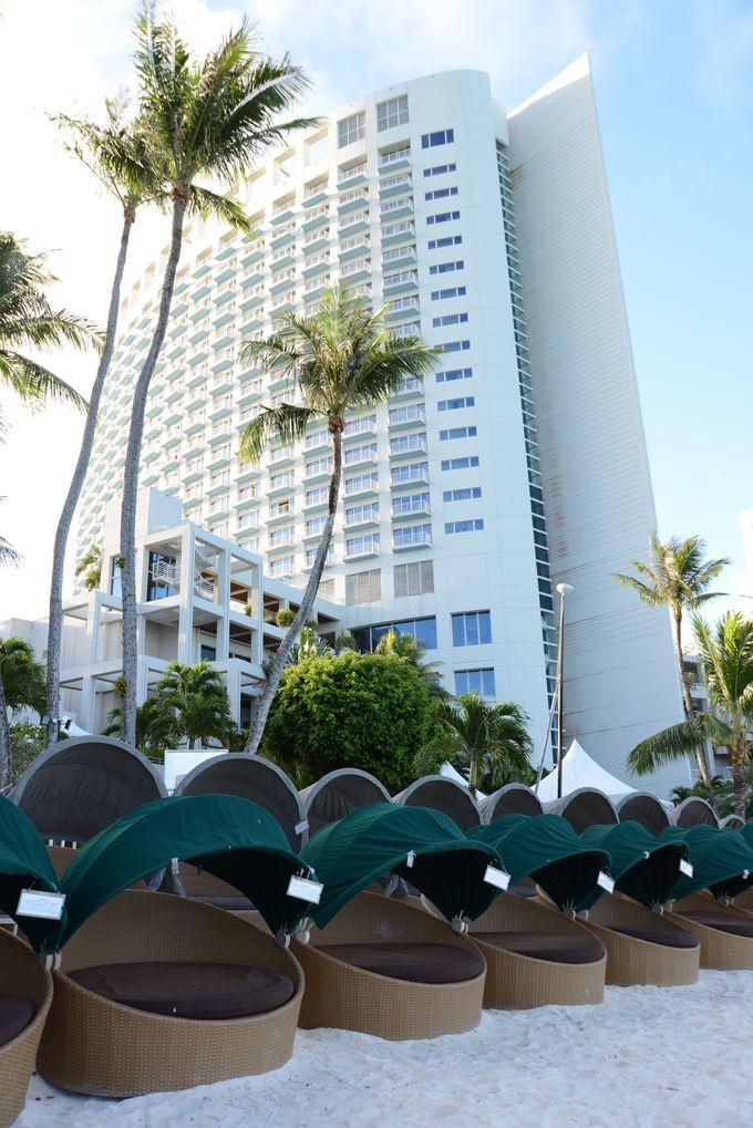 利便性に優れたタモン地区にあるリゾートホテル