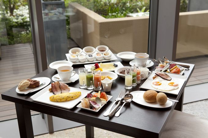 """奇跡の朝食と呼ばれる""""朝シャン""""付きブレックファースト"""