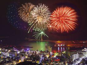 部屋からの花火見物が最高!「星野リゾート リゾナーレ熱海」