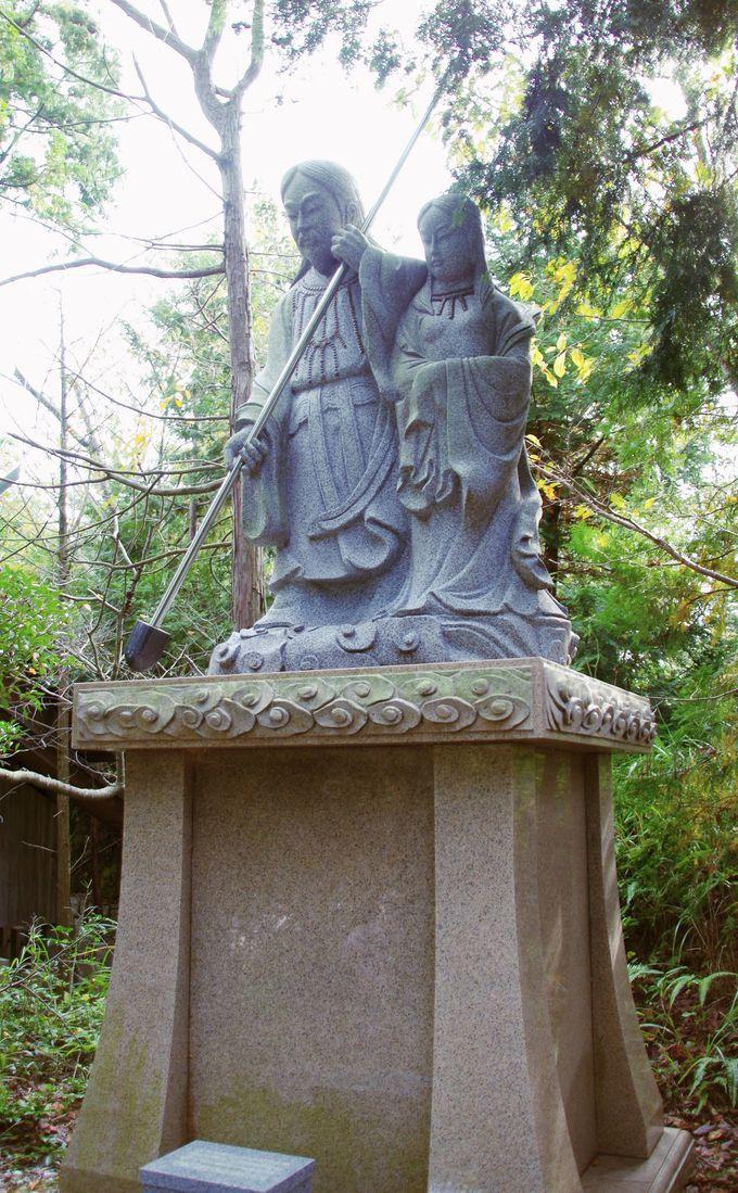 天地創造の神を祀る神社・自凝神社