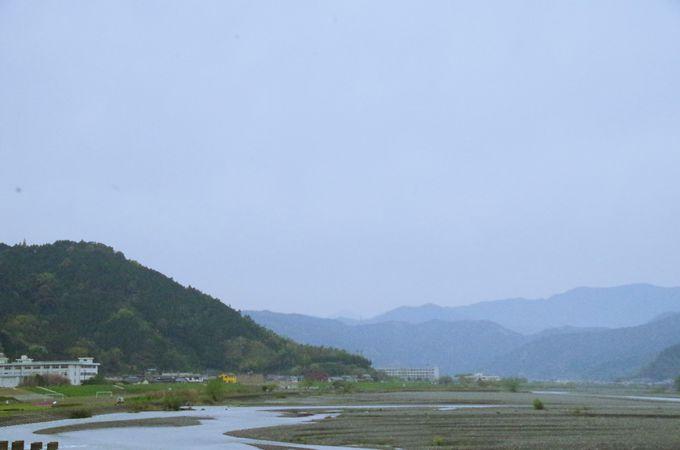安倍川というところ