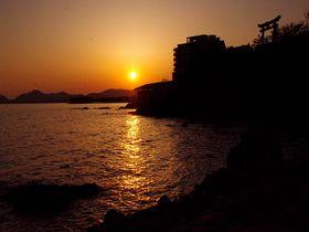 「日本の夕陽百選」兵庫・赤穂御崎は、いつまでも歩いていたい絶景の散歩道