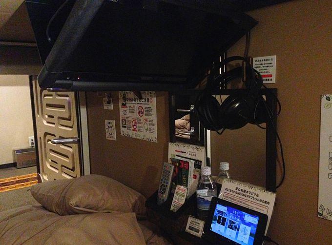新橋:「安心お宿」は男子専用の豪華カプセルホテル