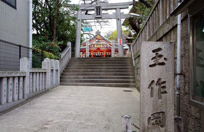 二千年以上の歴史がある稲荷神社