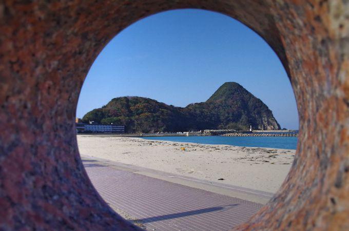歌川広重も称賛した竹野浜海岸と猫崎半島の風景
