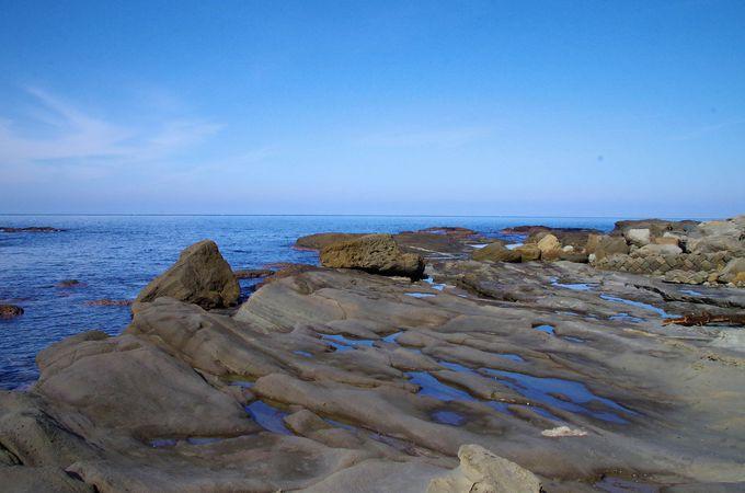 竹野浜海岸を、ブラタモリ気分でジオスポットめぐり