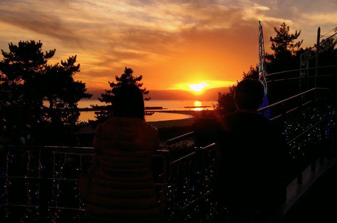夕日もオススメ「神戸須磨アクアイルミナージュ」が始まるまでの楽しみ方