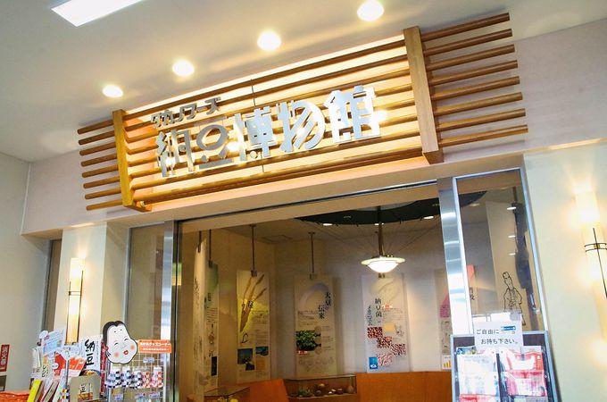 いつでも自由に無料で見学「納豆博物館」