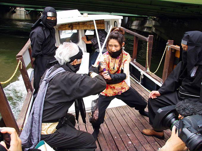 「忍者船 Ninja Cruise」のお楽しみ!船内で忍者体験