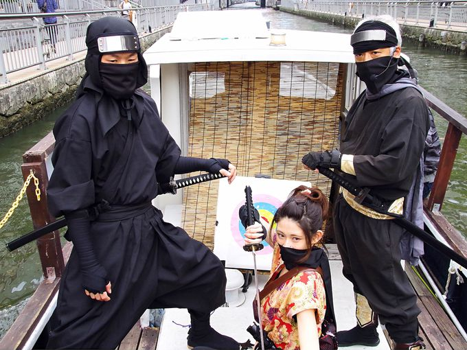 「忍者船 Ninja Cruise」水都大阪ならではの観光体験