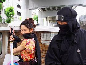 大阪・道頓堀を忍者姿で体験観光!「忍者船 Ninja Cruise」|大阪府|トラベルjp<たびねす>