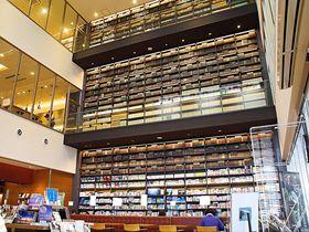 「高梁市図書館」が備中松山城と城下町観光を楽しくする!|岡山県|トラベルjp<たびねす>