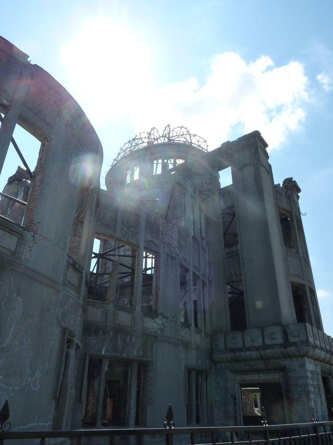 「原爆ドーム」に人間の愚かさと悲しさを見る