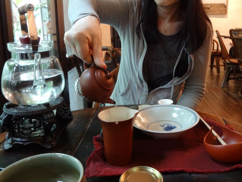 台北の日本式家屋で台湾茶を体験!古跡茶藝館でこころ豊かなひと時を