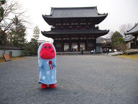 京都の世界遺産3つを巡る「きぬかけの路」と喋るゆるキャラ「きぬか怪(ケ)さん」|京都府|トラベルjp<たびねす>