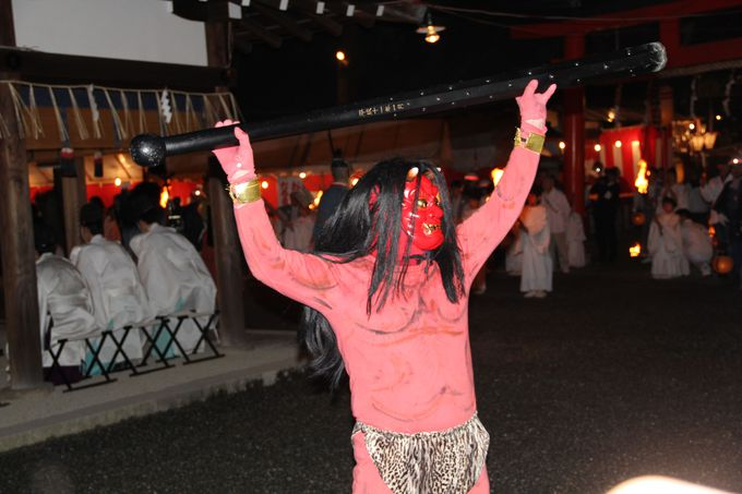 日本最大級、日本一長い歴史の「節分祭」は迫力満点!