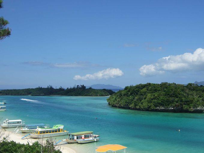2日目:海の色のグラデーションが素敵!景勝地「川平湾」