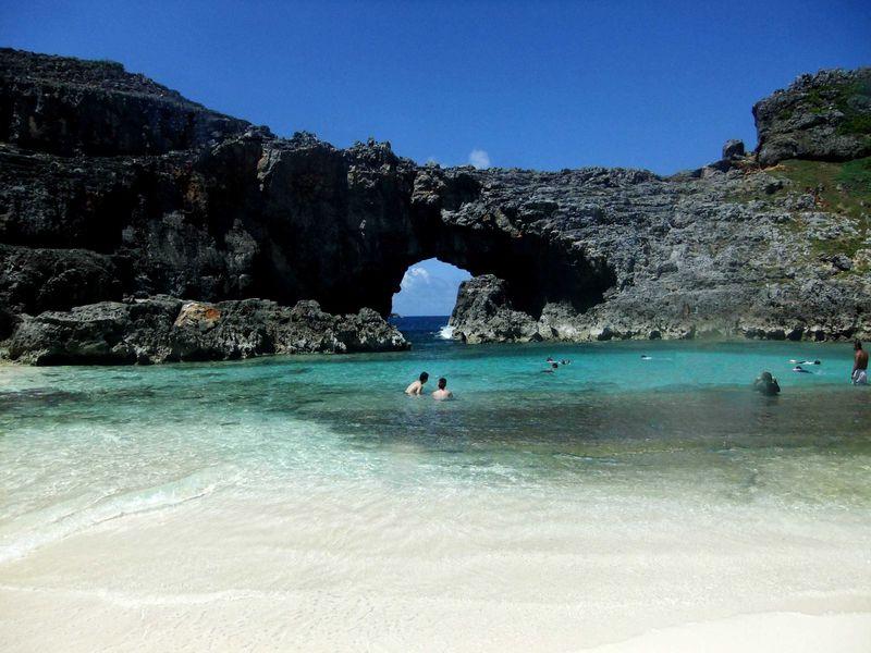 一生に一度は見たい国の天然記念物南島!世界自然遺産の小笠原へGO!