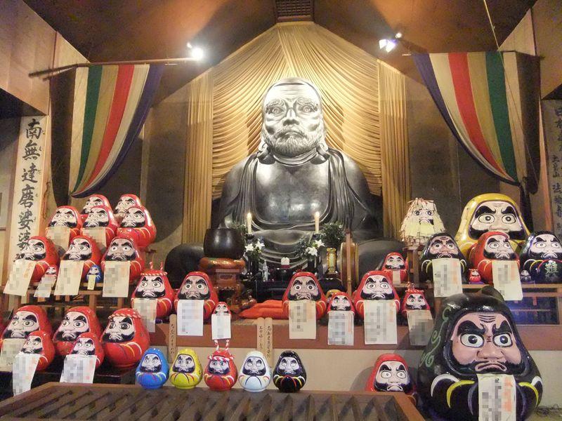 西伊豆で開運!大きさ日本一の達磨寺で悩み事はオサラバ!