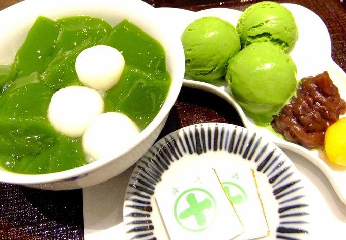 創業150年以上の老舗お茶屋のプルップルの生茶ゼリィ