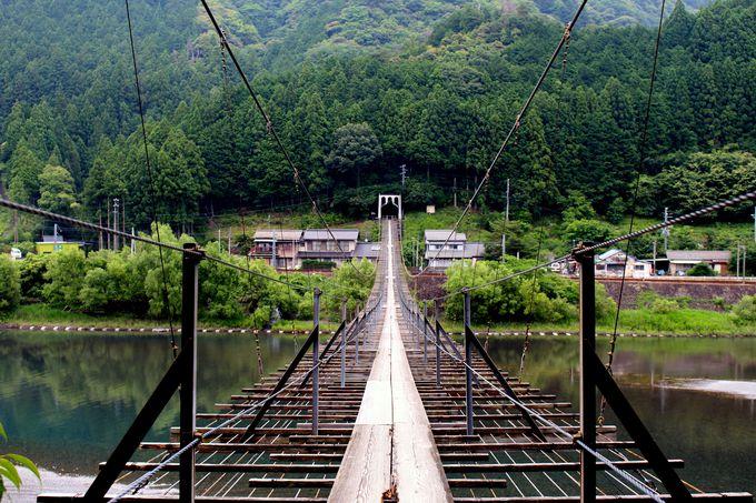 吊り橋の長さを再実感!