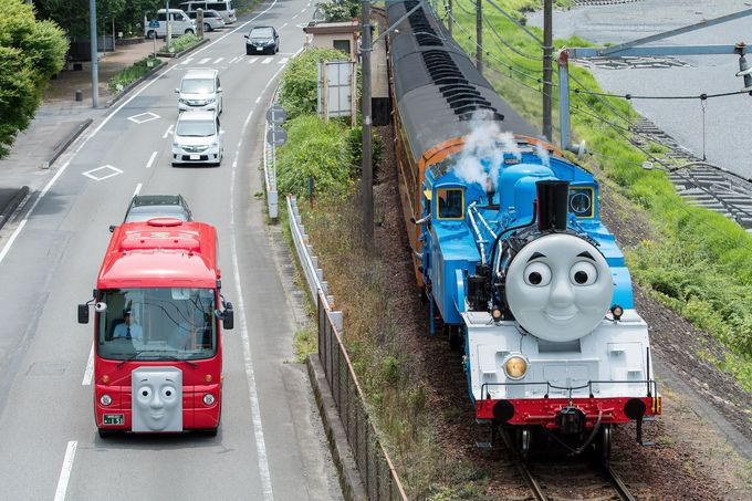 鉄道ファンもトーマスファンも集まれ!「大井川鐡道」