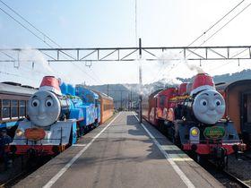 大井川鐵道のトーマス号クリスマス特別運転をめいっぱい楽しもう!|静岡県|トラベルjp<たびねす>