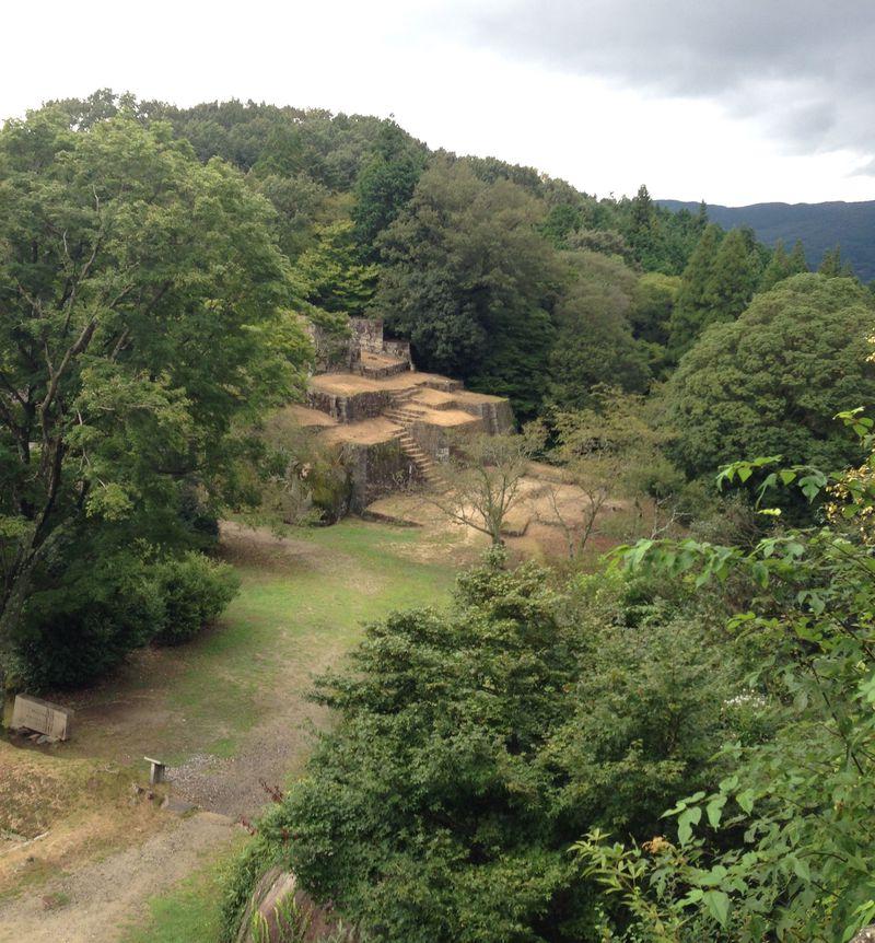 岐阜のマチュピチュ!?天空の城「苗木城跡」巨岩を利用した石垣が異彩を放つ