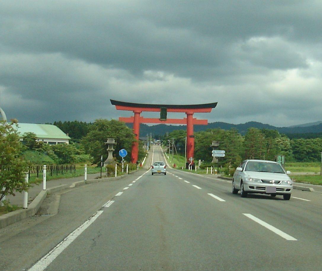 出羽三山の中で唯一年中参拝できる羽黒神社