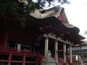 パワースポット出羽三山・羽黒神社の珍しい「三神合祭殿(さんじんごうさいでん)」!【山形県】